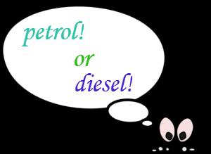 petrol or diesel generator